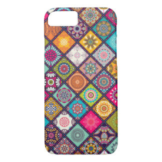 Multi-coloured pattern design iPhone 7 case