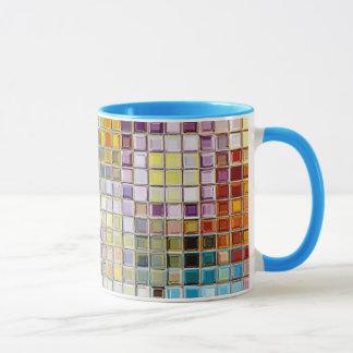 Multi Confetti Sunny Flower custom mug