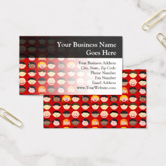 Multi-Cultural Children Business Card