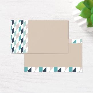 Multi Diamond Pattern Business Cards