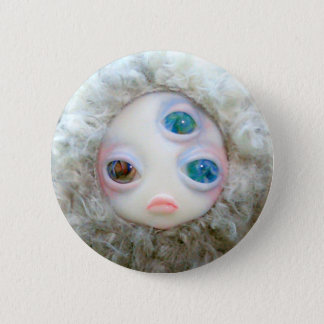 Multi eye monsters 2 inch round button