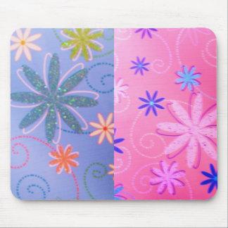 Multi-Floral,Colors Designed Mousepad