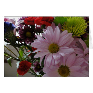 Multi- Flower Bouquet, Birthday Card