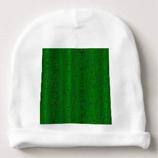 Multi Green Colour Background Baby Beanie