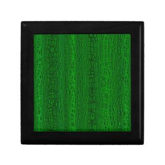 Multi Green Colour Background Gift Box