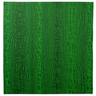Multi Green Colour Background Napkin