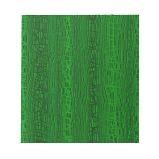 Multi Green Colour Background Notepad