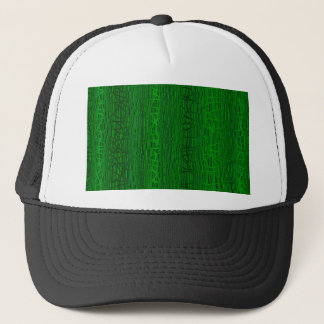 Multi Green Colour Background Trucker Hat
