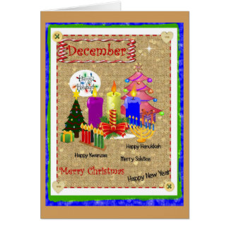 Multi-Holidays Card