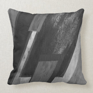 Multi Image Black and White Pillow