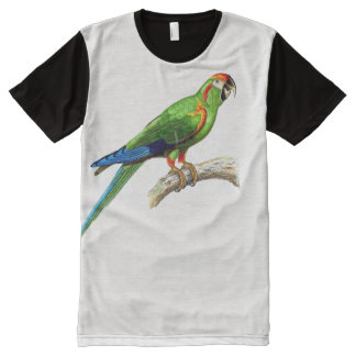 Multi Macaw Parrot Bird Animal T-Shirt