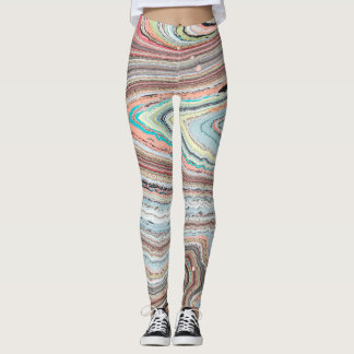 Multi-Marbled, Original Design by Karen Ruane Leggings