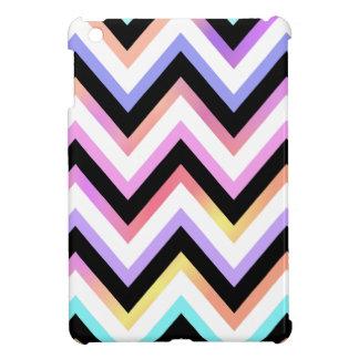 Multi Pastels Chevron Cover For The iPad Mini