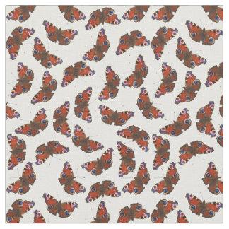 multi Peacock butterfly pattern Fabric