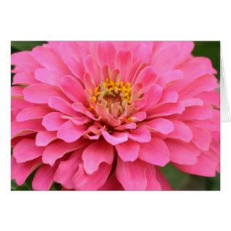 Multi-purpose pink flower card