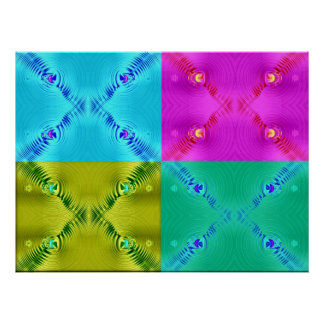 Multi Ripples Posters