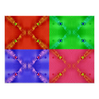 multi ripples print