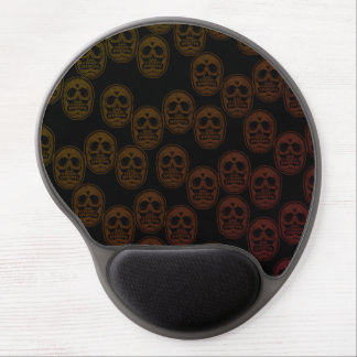 Multi-Skulls Gel Mouse Pad