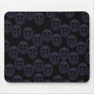 Multi-Skulls Ver.3 Grape Purple Mouse Pad