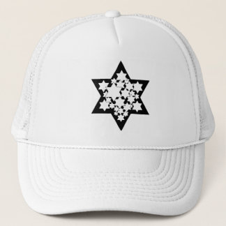 Multi Stars Star of David Trucker Hat