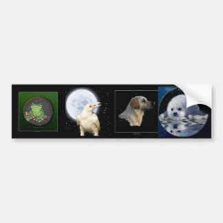 Multi-stickers I ANIMAL Set Bumper Sticker