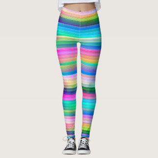 Multi Stripes Leggings