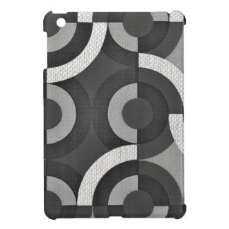 Multi Texture Look Geometric Mod Circles iPad Mini Cases