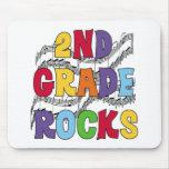 Multicolor 2nd Grade Rocks Mousepad