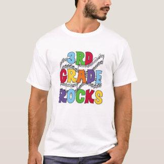 Multicolor 3rd Grade Rocks T-Shirt