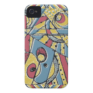 Multicolor Abstract Case-Mate iPhone 4 Cases