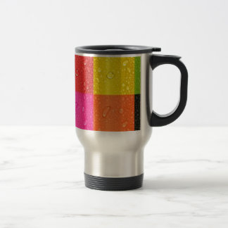 Multicolor abstract Design Travel Mug