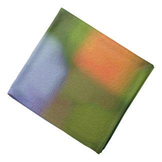 Multicolor Abstract Painting Bandana