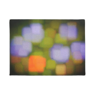 Multicolor Abstract Painting Doormat