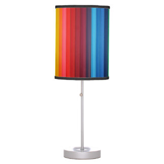 multicolor abstract pattern lamp