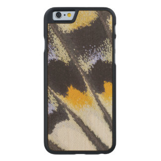 Multicolor butterfly wing pattern carved® maple iPhone 6 case