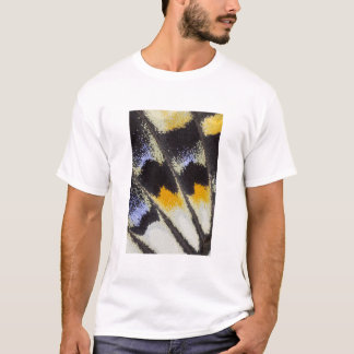 Multicolor butterfly wing pattern T-Shirt