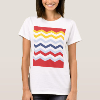 Multicolor Chevron design T-Shirt