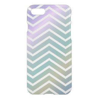 Multicolor chevron pattern iPhone 7 case