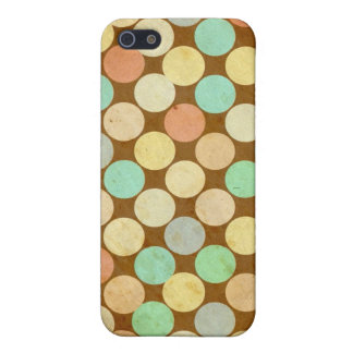 MultiColor Circle Dot Vintage Retro iPhone 5C Case
