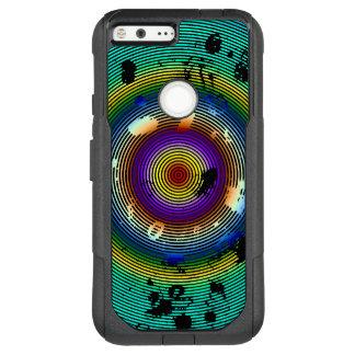 Multicolor Circled Pattern OtterBox Commuter Google Pixel XL Case