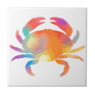 Multicolor Crab Tile