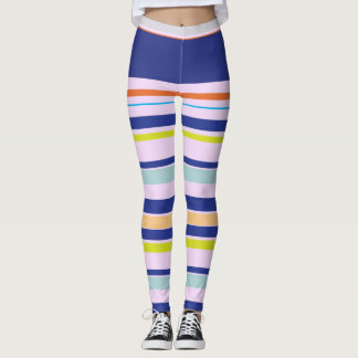 Multicolor Design by-Madison Leggings