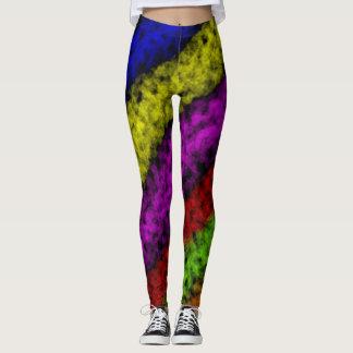Multicolor Design Leggings