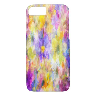 Multicolor Floral Abstract iPhone 7 Cases