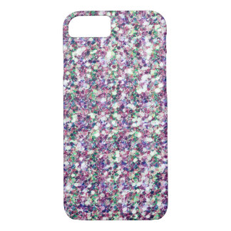 Multicolor Glitter Texture Print iPhone 7 Case