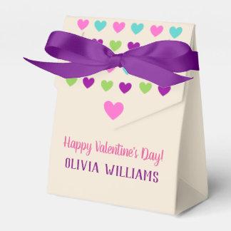 Multicolor Hearts All Occasion Favour Box
