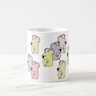 Multicolor koala mug