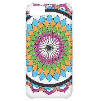 Multicolor Lotus iPhone 5C Cover