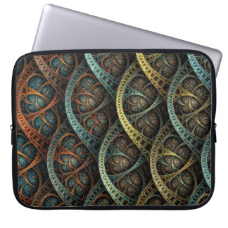 Multicolor metal ornament laptop sleeve
