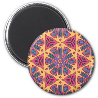 Multicolor Mix & Match Collectables - 1 2 Inch Round Magnet